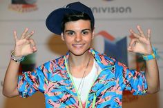 some symbols of the Spanish TV, music and Sports. Abraham Mateo