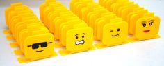 Porta Guardanapo Lego