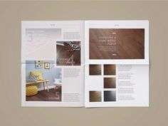 Woodpecker Flooring: Style Guides Newsprint on Student Show