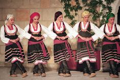 Greek traditional dancing Rhodos