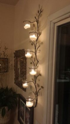 Wall candles                                                                                                                                                                                 Mais