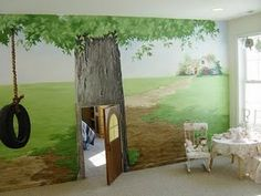 Per would LOVE LOVE LOVE this kids secret play room