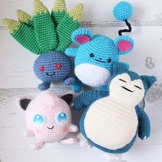 The gang all together  Hoping to add some more cuties to this soon. Have you made one yet? If yes, don't forget to tag me in your post so I can take a look. And if you haven't made one yet: what are you waiting for?!?! Link in my profile #crochet #crochetaddict #crochetgirlgang #hekle #hekling #amigurumi #pokemon #pokemongo #pokemonamigurumi #pokemoncrochet #sctreblemaker #craftastherapy #craftcolourmyday #clevercrafters #stylecraft #stylecraftspecialdk #sundaycrochet #knittycatcrochet…