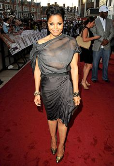 Janet Jackson attends a preview screening of 'Why Did I Get Married?' on May 21, 2010 in London, England.