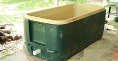 She Almost Tossed Her Old Cooler. Instead She Spent $30 To Make Something Incredible! via LittleThings.com