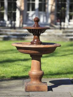 FT 35 Campania International Garden Fountains: CORTILE FOUNTAIN. Two Tier  Fountains