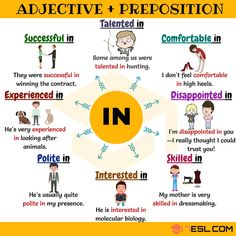 adjectives and prepositions English Prepositions, English Verbs, Learn English Grammar, English Fun, English Vocabulary Words, English Phrases, Learn English Words, English Language Learning, English Lessons