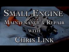 Join Chris Link and Richard Freudenberger as they teach us how to save time and money by doing our own repairs on small engines like lawn mowers and other sm. Engine Repair, Hands On Learning, Small Engine, Repair Manuals, Engineering, Snow, Teaching, Youtube, Diy