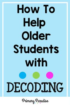 What do you do when and graders, are struggling to decode words that should come easily? Learning about syllable types is a huge help! Guided Reading Organization, Guided Reading Activities, Back To School Organization, Back To School Hacks, Back To School Activities, School Ideas, Silly Words, Nonsense Words, Student Reading