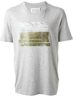 Maison Martin Margiela T-shirt À Imprimé Paysage - Andreas Murkudis - Farfetch.com
