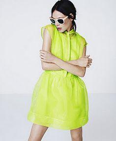 Neon Yellow :D