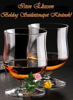 Wine Decanter, Shot Glass, Wine Glass, Happy Birthday, Tableware, Cards, Joker, Happy Brithday, Dinnerware