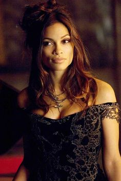 Rosario Dawson in Percy Jackson & the Olympians The Lightning Thief as Persephone