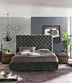 Čalouněná postel / Bed with upholstery/ #luxurybed