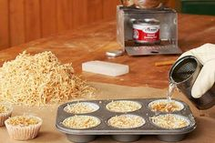 First-rate fire starters- Pack sawdust into paper muffin cups above or a cardboard egg carton. Melt paraffin wax or old candles in a double boiler pour over the sawdust and allow to cool. Slow-burning when lit these hotcakes make great starters for a Camping Survival, Survival Blog, Emergency Preparedness, Homestead Survival, Survival Skills, Emergency Packs, Bushcraft Camping, Survival Stuff, Survival Guide