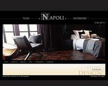 Website for a ceramic company