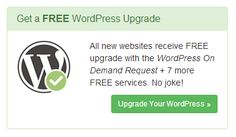 """Service sales page. Text and image call to action. """"All new websites receive FREE upgrade with the Wordpress On Demand Request + 7 more FREE services. No joke. Call To Action, Business Website, Prompts, Wordpress, Jokes, Free, Image, Husky Jokes, Memes"""