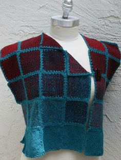 ZoZo Artwear by Lois Weaver: Little Squares Everywhere and Summer Travel Fun