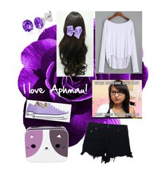 """I love Aphmau!!"" by creepaqueen on Polyvore featuring rag & bone, Converse and Belk & Co."