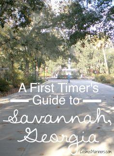 Guide to Savannah, GA