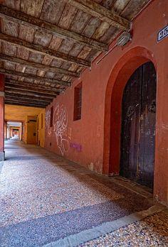 I portici di Bologna visti da Claudio Alba: Portici di Via S.Caterina 2