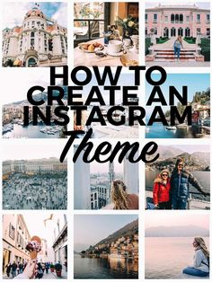How to Create An Instagram Theme and Why You Should! Plus Free eBook to learn to grow you Instagram. One of the best (and fastest) ways to gain followers on Instagram is to establish an aesthetic or theme. Before you tell me that I'm crazy or that you already KNOW, wait. I pinky swear, this post will attempt to show you that the idea of a theme might be different from what you typically …