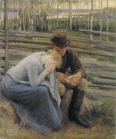 Sorrow, Albert Edelfelt. Finnish (1854-1905)