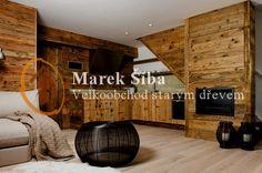 obklady staré dřevo-horské prkno -interiér