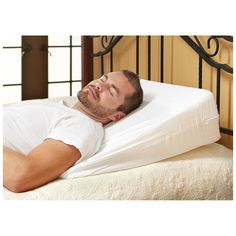 Home Comforts Memory Foam Bed Wedge Pillow $27.99 @ Bargain Outfitters - Hot Deals