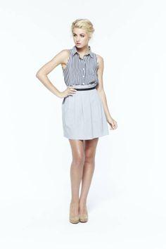 paper crown: star blouse + bridge skirt