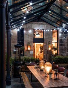 Outdoor Rooms, Outdoor Living, Indoor Outdoor, Balkon Design, Outside Living, Backyard Patio, My Dream Home, Exterior Design, Future House