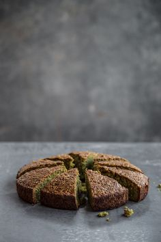 Flourless Pistachio Cake - Cook Republic Leave out the sugar, use sweetener replacement, for low carb