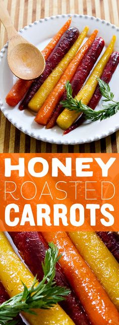 Honey Glazed Carrots are a sweet and simple snack to make for yourself at home! Great for the kids too, they will love the sweetness and you can love the natural goodness.