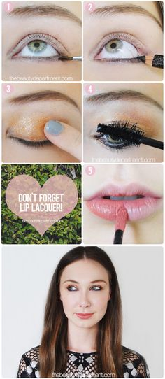 Party Makeup Inspiration! (Homecoming, anyone?)