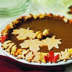 Not-So-Cookie-Cutter Pumpkin Pie ~ They will think you're a baker!