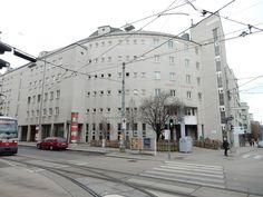 Hubert-Pfoch-Hof Street View, Social Housing, Communities Unit