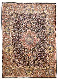 Kashmar Handgeknüpft orientalisch Teppich Perser 392 x 298 orient matto Rugs