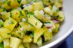 Spicy Pineapple Salsa | Award-Winning Paleo Recipes | Nom Nom Paleo