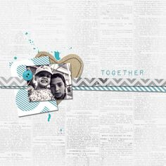 ☆☆☆ Credits ☆☆☆ Par Franny  photo du 16 septembre 2012  scraplift d'une page de talktoheather  ☆Just my Type | Kit de JM Designs