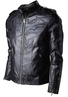 Here's the difference between Batman and Batgirl fans. The Batman guy thinks this is an awesome jacket to buy and wear FOR HIMSELF. He doesn't think Batman should wear it in place of the body armor and cape because it's so gosh darn realistic and practical.
