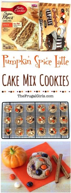 Pumpkin Spice Latte Cookies Recipe