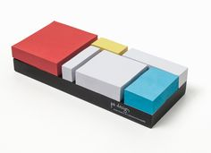Mondrian Sticky Notes Add Art and Utility to Your Deskspace