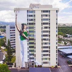 Kamea Hadar in Honolulu, Hawaii, 2017