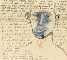Freud, Self-Portrait Letter to Stephen Spender 1941