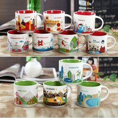 星巴克马克杯陶瓷咖啡杯情侣对杯带盖创意大容量水杯美国城市杯子-淘宝网