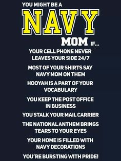 Navy Mom..... Navy Sister, Navy Girlfriend, Navy Mom, Navy Life, Navy Party Themes, Go Navy, Navy Military, Military Gifts, Navy Corpsman