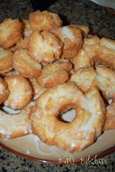 Old Fashion Sour Cream Doughnuts