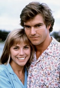 Bess Armstrong and Dennis Quaid