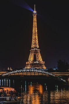 The Eiffel Tower and the Seine River, Paris, France by Christophe Buiron Paris France, France Europe, Paris Paris, Paris Torre Eiffel, Paris Eiffel Tower, Eiffel Towers, Paris At Night, Beautiful Paris, I Love Paris