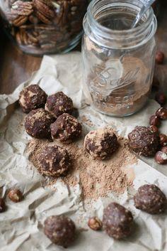Chocolate Hazelnut Truffles | VeguKate